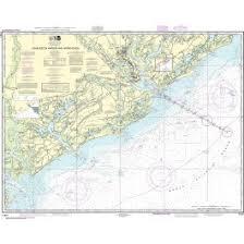 Noaa Chart 11452 Noaa Nautical Chart 11521 Charleston Harbor And Approaches