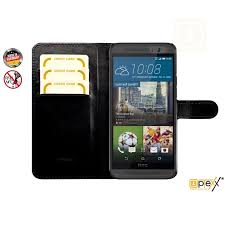 rfid mobile cell phone wallet case berlin black for htc one m9 with debit credit card slots