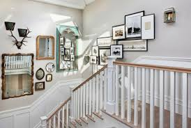 staircase wall art ideas amazing stairway decor idea decorating decorate tall i love