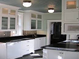 Contemporary Kitchen Ideas White Cabinets Black Countertop Modern With Countertops Two On Models