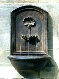 water fountain outdoor wall wall mounted fountains outdoor backyard wall fountains impressive outdoor hanging water fountains