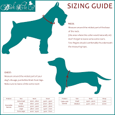 Sizing Chart And Info Bark Style Online