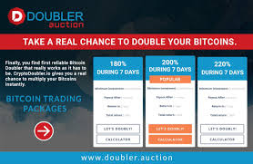 I thought faucets is slowly dying, i hope this kind of doubler will get some interest in btc. Doubler Auction Trade Dc Twitter
