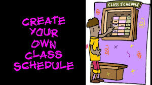 create college class schedule college essentials how to create your own class schedule
