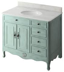 38 distressed light blue daleville bathroom vanity no mirror no faucet