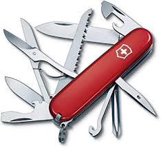Victorinox Swiss Army Fieldmaster Pocket Knife, Red ... - Amazon.com
