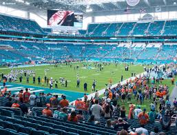 Miami Dolphins Hard Rock Stadium Seating Chart Hard Rock Stadium Section 129 Seat Views Seatgeek