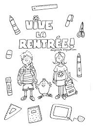 Danger Cole Affichages Utiles En Vrac Coloriage Pinterest S Dessin Coloriage La Rentree Des ClassesL