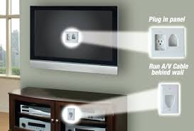 how to hide wires for wall mounted tv wall mount hide wires fireplace hide cable cords