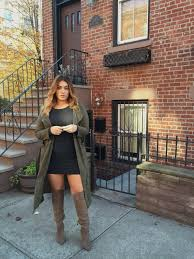 knee high boots | Plus Size Fashion | Pinterest | Nadia aboulhosn ...