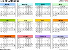 Microsoft Word Teplates Blank Calendar 9 Free Printable Microsoft Word Templates