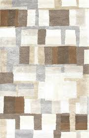 brown and gray area rugs rug modern grey brilliant blue slate espresso b