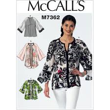 Raglan Sleeve Pattern Magnificent Misses Raglan Sleeve Tops And Jackets McCalls Sewing Pattern 48