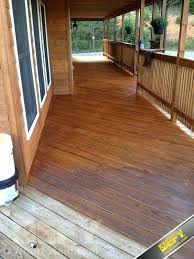 staining treated wood leave a gap between pressure treated deck boards when the wood is wet