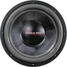 Amazon.com: American Bass Hd18d2 18 3000w Car Audio Subwoofer Sub 3000 Watt:  Car Electronics