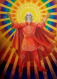 Настин уголок Мой школьный доклад презентация боги Древней Руси бог солнца на Руси