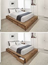 Best 25+ Simple wood bed frame ideas on Pinterest | Wooden bed frame diy, Wooden  beds and Bed furniture