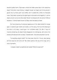 descriptive and narrative essay  3 beautiful