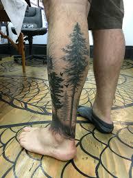 Forest Tattoo Tattoo Tetování Tetování Strom A Kresby