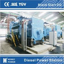 China Honny Black Start Generator Power Plant rpm China 3mw