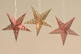 Papierstern Stern Rot Gold Glitzer ø 34 Cm Weihnachtsstern Lm34