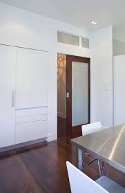 timberformed with glazed timber door