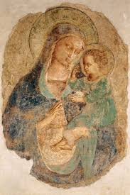 madonna and child fra angelico completion date 1435 style early renaissance genre religious painting technique fresco