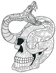 Day Of The Dead Mandala Coloring Pages Copy Adult Skull Coloring
