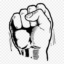 Fist Transparent Background Black Power Fist Png Fist Drawing Transparent Background