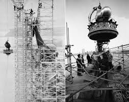 Image result for the Statue of Liberty assembling