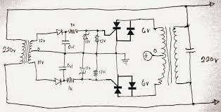 grid tie inverter gti circuit using scr