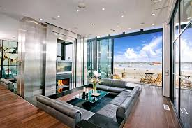 26 Amazing Sunken Living Room Designs-16