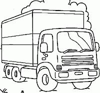 Camion Disegni Da Colorare E Stampare Gratis Immagini Per Bambini