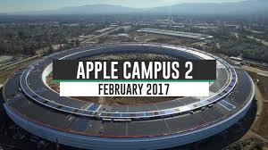 cupertino apple office. Apple Campus 2 February 2017 Construction Update 4K Cupertino Office G