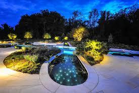 image of unique landscape lighting custom
