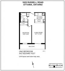 Bedroom Apartment For Rent   Russell Road Ottawa - One bedroom apartment ottawa