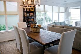Reclaimed Dining Table/ OBA Project beach-style-dining-room