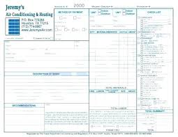 Hvac Invoice Forms Excel Sample Template – Equityand.co