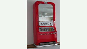 Old Candy Vending Machine Interesting Vintage Candy Vending Machine Restored K48 Indy Road Art 48