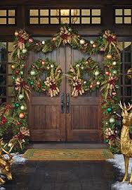 christmas front door decorationsChristmas Double Front Door Decorations  Happy Holidays