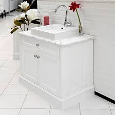 Image Freshfit Pinterest Allure Bathrooms Classic 900 White Marble Top Vanity