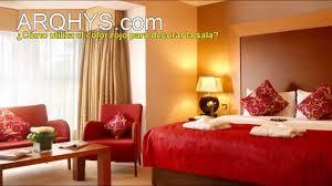 cómo utilizar el color rojo para decorar la sala el rojo en la decoración interior you