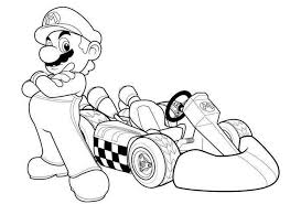 Small Picture Mario Kart Coloring Pages 29237 Bestofcoloringcom