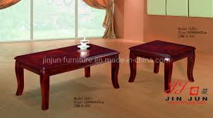 china wooden center table for sofa set