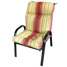 high back garden chair cushions patio chair remarkable patio chair pads with fancy outdoor high back