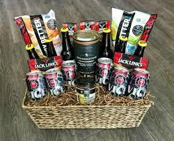 the miami man gift basket
