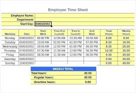 Payroll Timesheet Calculator Awesome How To Make A Time Card Calculator In Excel Kubreeuforicco