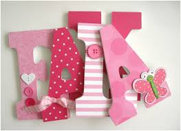 wall letters for nursery wood letter wall decor classy design baby girl custom wooden letters