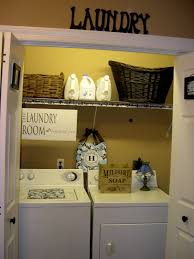 Laundry Decor Lovely Laundry Room In A Closet Ideas Roselawnlutheran