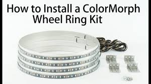 How To Install Wheel Ring Lights Profile Pixel Colormorph Led Wheel Rings How To Install